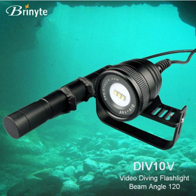 Brinyte DIV10V CREE XM L2 U2 3 LEDs Diving Flashlight