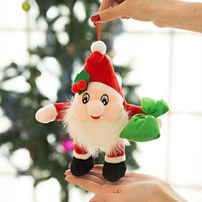 Lovely Soft Christmas Santa Clause Plush Toy - 9.84 inch