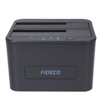 FIDECO YPZ04 - S2 - U3 USB 3.0 SATA Hard Drive Disk CaseHDD &amp; SSD<br>FIDECO YPZ04 - S2 - U3 USB 3.0 SATA Hard Drive Disk Case<br><br>Brand: FIDECO<br>Control Chip: No<br>Model: YPZ04 - S2 - U3<br>Package Size(L x W x H): 22.50 x 14.00 x 8.00 cm / 8.86 x 5.51 x 3.15 inches<br>Package weight: 0.582 kg<br>Packing List: 1 x FIDECO YPZ04 - S2 - U3 Hard Drive Disk Case, 1 x Power Adapter, 1 x USB Cable,  1 x English Manual<br>Product Size(L x W x H): 11.00 x 10.50 x 7.00 cm / 4.33 x 4.13 x 2.76 inches<br>Product weight: 0.445 kg<br>Size: 2.5 inch,3.5 inch<br>System support: Linux, Windows ME, Windows NT, Windows Vista, Windows XP, Android, Windows 98SE, Windows 98, Mac OS, Windows, Windows 10, Windows 2000, Windows 2003, Windows 7, IOS, Windows 95, Windows 8