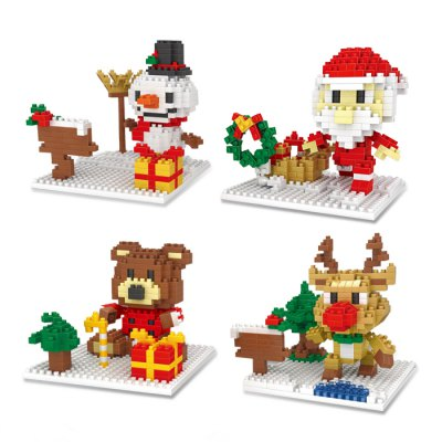 Christmas Series Bear Building Block ModelBlock Toys<br>Christmas Series Bear Building Block Model<br><br>Completeness: Semi-finished Product<br>Gender: Unisex<br>Materials: ABS<br>Package Contents: 1 x Pack of Building Blocks<br>Package size: 8.50 x 8.50 x 8.50 cm / 3.35 x 3.35 x 3.35 inches<br>Package weight: 0.095 kg<br>Product size: 9.00 x 8.00 x 8.00 cm / 3.54 x 3.15 x 3.15 inches<br>Product weight: 0.060 kg<br>Stem From: Europe and America<br>Theme: Other