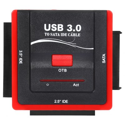 888U3IS USB 3.0 to 2.5 / 3.5 inch IDE / SATA HDD Adapter