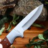 Tonife HKT4002 Fixed Blade Knife with Wooden Handle photo
