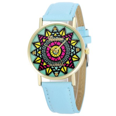 Geneva Fashion Lady Quartz Watch