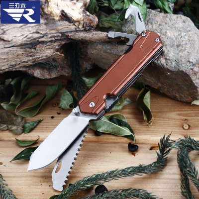 Sanrenmu 7117 LUX - LY - T5 Multifunctional Folding Knife