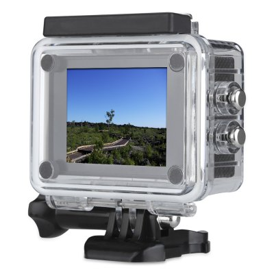 SJ6000S 1080P 30fps FHD WiFi Action CameraAction Cameras<br>SJ6000S 1080P 30fps FHD WiFi Action Camera<br><br>Aerial Photography: No<br>Anti-shake: No<br>Audio System: Built-in microphone/speaker (AAC)<br>Auto Focusing: No<br>Battery Capacity (mAh): 900mAh<br>Battery Type: Removable<br>Camera Timer: No<br>Charge way: USB charge by PC<br>Charging Time: 4h<br>Exposure Compensation: +1,+1/3,+2,+4/3,+5/3,-1,-1/3,-2,-2/3,-4/3,-5/3,0,2/3<br>Features: Wireless<br>FPV Output: Yes<br>Function: FPV Output<br>Image Format : JPG<br>Image resolutions: 2592 x 1944 (5MP), 2048 x 1536 (3MP), 1920 x 1080 (2MP HD), 1280 x 960, 4032 x 3024 (12MP), 3648 x 2736 (10MP), 4608 x 3456 (16M), 640 x 480 (VGA)<br>Interface Type: Micro USB, TF Card Slot<br>ISO: Auto,ISO100,ISO200<br>Language: Deutsch,English,French,Italian,Japanese,Portuguese,Russian,Simplified Chinese,Spanish,Traditional Chinese<br>Lens Diameter: 17.5mm<br>Max External Card Supported: TF 32G (not included)<br>Microphone: Built-in<br>Model: SJ6000S<br>Night vision : No<br>Package Contents: 1 x SJ6000S 1080P 30fps FHD WiFi Action Camera, 1 x Waterproof Housing, 1 x Handle Bar / Pole Mount, 7 x Mount, 2 x Clip, 2 x Helmet Mount, 4 x Bandage, 4 x Tether, 2 x Adhesive, 1 x Wire Rope, 1 x Pr<br>Package size (L x W x H): 27.00 x 17.00 x 7.00 cm / 10.63 x 6.69 x 2.76 inches<br>Package weight: 0.5340 kg<br>Product size (L x W x H): 6.50 x 4.50 x 3.00 cm / 2.56 x 1.77 x 1.18 inches<br>Product weight: 0.0650 kg<br>Screen resolution: 320x240<br>Screen size: 2.0inch<br>Screen type: LCD<br>Sensor: CMOS<br>Standby time: 2h<br>Time lapse: No<br>Type: Sports Camera<br>Type of Camera: 1080P<br>Video format: AVI<br>Video Frame Rate: 30FPS<br>Video Resolution: 1080P (1920 x 1080)<br>Waterproof: Yes<br>Waterproof Rating : 30m, IP68<br>White Balance Mode: Fluorescent, Daylight, Cloudy, Auto, Tungsten<br>Wide Angle: 140 degree wide angle<br>WIFI: Yes<br>WiFi Distance : 10m<br>Working Time: 60 minutes
