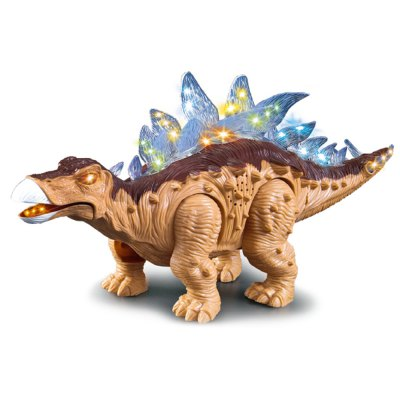 Electric Powered Children Stegosauria Walking Toy