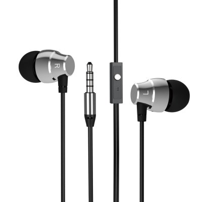 A3 HiFi Super Bass In Ear Earphones with Mic