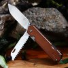 Sanrenmu 7117 LUX - LY - T5 Folding Browning Knives / Saw / Rope Cutter photo