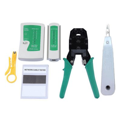 RJ45 Ethernet Network Cable Tester Kit