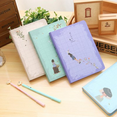 Jingu 1352 Cherry Time 32K NotebookNotebooks &amp; Pads<br>Jingu 1352 Cherry Time 32K Notebook<br><br>Brand Name: Jingu<br>Type: Others<br>Material: Paper<br>Color: Blue,Gray,Green,Purple<br>Product weight: 0.400 kg<br>Package weight: 0.470 kg<br>Product size (L x W x H): 18.60 x 12.80 x 1.80 cm / 7.32 x 5.04 x 0.71 inches<br>Package size (L x W x H): 19.60 x 13.80 x 2.80 cm / 7.72 x 5.43 x 1.1 inches<br>Package Contents: 1 x Jingu 1352 Cherry Time 32K Notebook