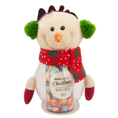 Lovely Christmas Doll Candy Gift Box Novelty Ornament