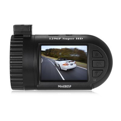 Mini 0805P 1.5 inch 1296P Car DVR Camera with GPS ModuleCar DVR<br>Mini 0805P 1.5 inch 1296P Car DVR Camera with GPS Module<br><br>Anti-shake: No<br>Audio System: Built-in microphone/speacker (AAC)<br>Auto-Power On : Yes<br>Battery Capacity (mAh?: No<br>Battery Type: Safe Capacitor<br>Charge way: Car charger<br>Class Rating Requirements: Class 6 or Above<br>Decode Format: H.264<br>G-sensor: Yes<br>GPS: Yes<br>HDMI Output: Yes<br>HDR: Yes<br>Image resolution: 14M (4384 x 3288)<br>Image Sensor: CMOS<br>Language: English,Russian,Simplified Chinese,Traditional Chinese<br>Lens Size: 14mm<br>Loop-cycle Recording Time: 1min,3min,5min,OFF<br>Max External Card Supported: SD 64G (not included)<br>Model: 0805P<br>Motion Detection: Yes<br>Motion Detection Distance: 5m<br>Night vision : No<br>Night Vision Distance: No<br>Operating Temp.: 0 - 60 Deg.C<br>Package Contents: 1 x 0805P Car DVR, 1 x Car Charger, 1 x USB Cable, 1 x GPS Antenna, 1 x Clean Cloth, 1 x Sticker, 2 x Silicone Glue, 6 x Installation Gadget, 1 x Katallobar, 1 x English User Manual<br>Package size (L x W x H): 14.50 x 11.00 x 9.00 cm / 5.71 x 4.33 x 3.54 inches<br>Package weight: 0.4360 kg<br>Parking Monitoring: Yes<br>Power Cable Length: 0.76m USB cable, 3.4m car charger cable, 3.53m katallobar<br>Product size (L x W x H): 7.00 x 5.00 x 4.00 cm / 2.76 x 1.97 x 1.57 inches<br>Product weight: 0.0570 kg<br>Screen size: 1.5inch<br>Time Stamp: Yes<br>Type: Mini DVR, Car DVR with GPS<br>Video format: MOV<br>Video Frame Rate: 30fps<br>Video Output : HDMI<br>Video Resolution: 1296P (2304 x 1296)<br>Video System: NTSC,PAL<br>Waterproof: No<br>Waterproof Rating : No<br>WDR: Yes<br>White Balance Mode: Auto<br>Wide Angle: 140 degree wide angle<br>Working Time: No<br>Working Voltage: 5V