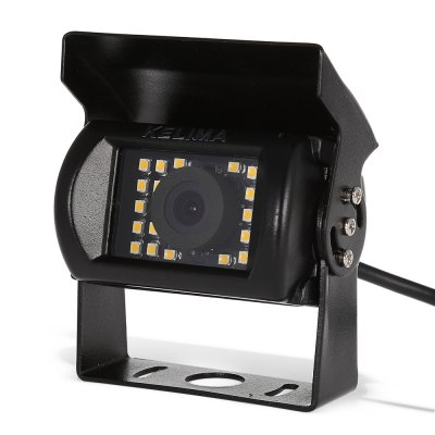 KELIMA Waterproof 24 SMD LED Rearview CameraRear Camera<br>KELIMA Waterproof 24 SMD LED Rearview Camera<br><br>Brand: KELIMA<br>Night vision : Yes<br>Package Contents: 1 x KELIMA Rearview Camera, 1 x Audio / Video Connection Cable, 1 x English User Manual<br>Package size (L x W x H): 13.00 x 9.50 x 6.50 cm / 5.12 x 3.74 x 2.56 inches<br>Package weight: 0.344 kg<br>Power Cable Length: 42.8cm power cable, 98cm audio / video connection cable<br>Product size (L x W x H): 7.20 x 5.50 x 7.60 cm / 2.83 x 2.17 x 2.99 inches<br>Product weight: 0.262 kg<br>Type: Rear View Camera
