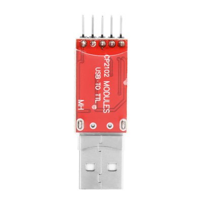 DIY CP2102 Chip USB to TTL Converter Module BoardOther Accessories<br>DIY CP2102 Chip USB to TTL Converter Module Board<br><br>Color: Red<br>Package Contents: 1 x CP2102 Chip USB to TTL Converter Module, 1 x Cable ( 12cm )<br>Package Size(L x W x H): 6.00 x 3.00 x 3.00 cm / 2.36 x 1.18 x 1.18 inches<br>Package weight: 0.020 kg<br>Product Size(L x W x H): 4.50 x 1.20 x 0.80 cm / 1.77 x 0.47 x 0.31 inches<br>Product weight: 0.005 kg