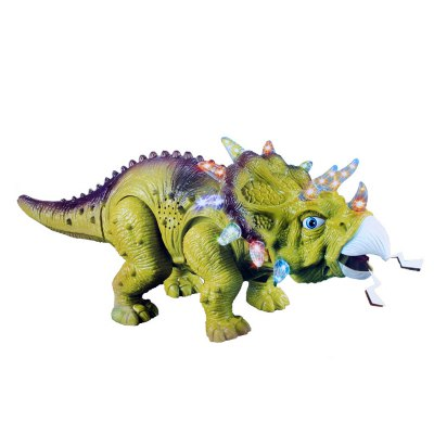 Electric Powered Children Triceratops Walking ToyOther Educational Toys<br>Electric Powered Children Triceratops Walking Toy<br><br>Completeness: Semi-finished Product<br>Gender: Unisex<br>Materials: Electronic Components, Plastic<br>Package Contents: 1 x Electric Toy<br>Package size: 29.00 x 14.00 x 15.00 cm / 11.42 x 5.51 x 5.91 inches<br>Package weight: 0.448 kg<br>Product size: 37.00 x 13.00 x 14.00 cm / 14.57 x 5.12 x 5.51 inches<br>Product weight: 0.400 kg<br>Stem From: Europe and America<br>Theme: Animals