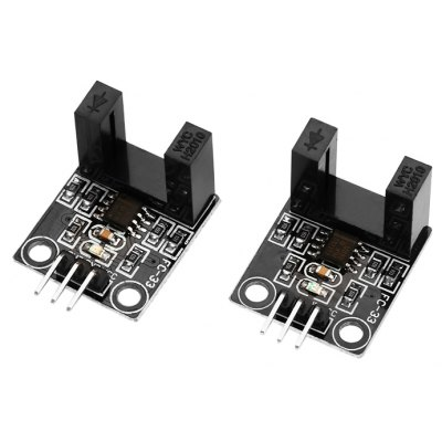 2PCS DIY IR Infrared Radiation Velometer Sensor Module