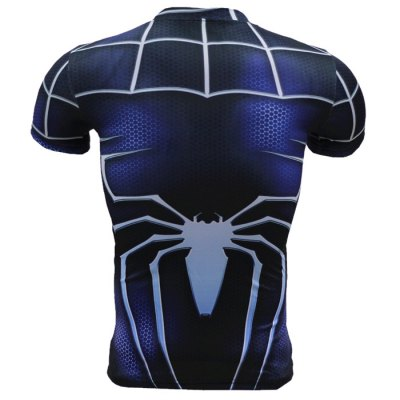 3D Cartoon Print Short Sleeves Tight Fitness T-shirtWeight Lifting Clothes<br>3D Cartoon Print Short Sleeves Tight Fitness T-shirt<br><br>Color: Black,Blue,Red<br>Features: Breathable, High elasticity, Quick Dry<br>Gender: Men<br>Material: Polyester<br>Package Content: 1 x 3D Print T-shirt<br>Package size: 40.00 x 30.00 x 1.00 cm / 15.75 x 11.81 x 0.39 inches<br>Package weight: 0.2200 kg<br>Product weight: 0.1600 kg<br>Size: 2XL,3XL,4XL,L,M,XL<br>Types: Short Sleeves