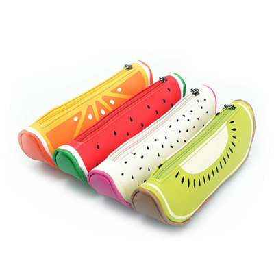 Creative Fruit Shape Pencil Case Pen Bag