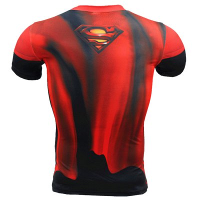 Breathable 3D Cartoon Print Short Sleeves Tight Fitness T-shirtWeight Lifting Clothes<br>Breathable 3D Cartoon Print Short Sleeves Tight Fitness T-shirt<br><br>Features: Breathable, High elasticity, Quick Dry<br>Gender: Men<br>Material: Polyester<br>Package Content: 1 x 3D Print T-shirt<br>Package size: 30.00 x 26.00 x 1.00 cm / 11.81 x 10.24 x 0.39 inches<br>Package weight: 0.2200 kg<br>Size: 2XL,3XL,4XL,L,M,XL<br>Types: Short Sleeves