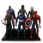 6pcs / set Animation Game Character Action Figure Model