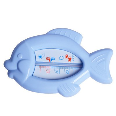 REIZBABY Baby Infant Cartoon Fish Shower Water Thermometer