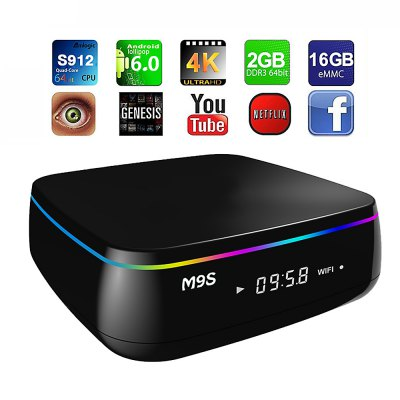 M9S MIX Android TV Box