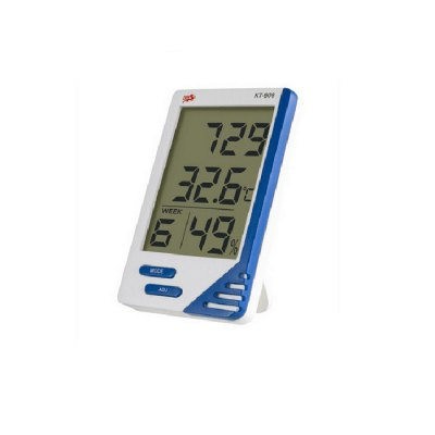 KT-908 LCD Digital Indoor Outdoor Thermometer Hygrometer