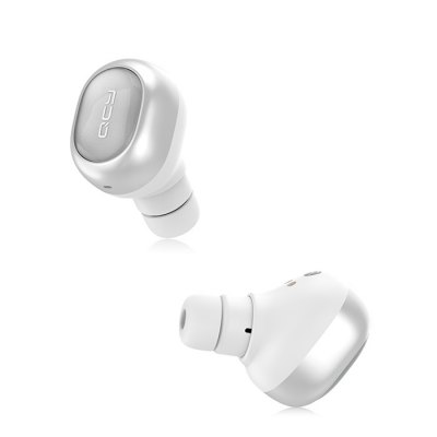 QCY Q29 In-ear Bluetooth EarphonesEarbud Headphones<br>QCY Q29 In-ear Bluetooth Earphones<br><br>Application: Sport, Portable Media Player, Mobile phone, Computer<br>Battery Capacity(mAh): 45mAh<br>Battery Types: Built-in Li-ion Battery<br>Bluetooth: Yes<br>Bluetooth Version: V4.1<br>Brand: QCY<br>Charging Time.: 1h<br>Connectivity: Wireless<br>Frequency response: 20~20KHz<br>Function: Sweatproof, Noise Cancelling, Bluetooth, Answering Phone<br>Impedance: 16ohms<br>Language: English<br>Material: ABS<br>Model: Q29<br>Music Time: 3 - 4h<br>Package Contents: 1 x QCY Q29 Earphones, 1 x Charging Dock<br>Package size (L x W x H): 13.70 x 6.80 x 3.50 cm / 5.39 x 2.68 x 1.38 inches<br>Package weight: 0.1200 kg<br>Product weight: 0.0800 kg<br>Sensitivity: 96dB<br>Standby time: 30h<br>Talk time: 3 - 4h
