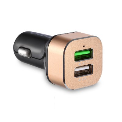 TUTUO QC 3.0 - 114 Dual USB Ports Car Charger