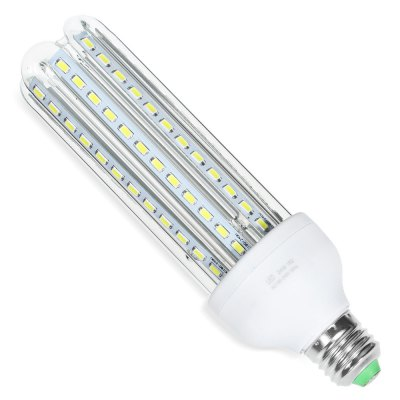 E27 24W 2100LM SMD 5730 U-shaped LED BulbCorn Bulbs<br>E27 24W 2100LM SMD 5730 U-shaped LED Bulb<br><br>Angle: 360 degree<br>Available Light Color: White<br>CCT/Wavelength: 6000K<br>Emitter Types: SMD 5730<br>Features: Long Life Expectancy, Energy Saving<br>Function: Home Lighting, Commercial Lighting, Studio and Exhibition Lighting<br>Holder: E27<br>Lifespan: 30000h or more<br>Luminous Flux: 2100Lm<br>Output Power: 24W<br>Package Contents: 1 x U-shaped LED Bulb<br>Package size (L x W x H): 22.00 x 7.50 x 7.50 cm / 8.66 x 2.95 x 2.95 inches<br>Package weight: 0.200 kg<br>Product size (L x W x H): 20.00 x 6.00 x 6.00 cm / 7.87 x 2.36 x 2.36 inches<br>Product weight: 0.133 kg<br>Sheathing Material: Plastic, Glass<br>Total Emitters: 96<br>Type: U Shaped Light<br>Voltage (V): AC 180-240V,AC 85-265