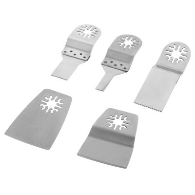 5PCS Stainless Steel Saw Blade Multi Oscillating Tool