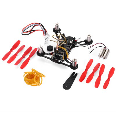 QX95 95mm FPV Racing Drone - BNFMicro Brushed Racer<br>QX95 95mm FPV Racing Drone - BNF<br><br>Battery (mAh): 3.7V 600mAh 25C LiPo ( included )<br>Camera Pixels: 720 x 480px ( NTSC ); 720 x 576px ( PAL )<br>CW / CCW: CCW,CW<br>Package Contents: 1 x Frame Kit, 1 x 3.7V 600mAh 25C LiPo Battery, 1 x USB Charging Cable, 1 x Propeller Puller, 8 x Propeller, 2 x Spare Motor, 1 x Pack of Rubber Bands, 1 x Cable<br>Package size (L x W x H): 10.00 x 10.00 x 7.00 cm / 3.94 x 3.94 x 2.76 inches<br>Package weight: 0.140 kg<br>Product size (L x W x H): 8.00 x 8.00 x 3.00 cm / 3.15 x 3.15 x 1.18 inches<br>Product weight: 0.055 kg<br>Sensor: CMOS<br>Type: Frame Kit<br>Video Resolution: 520TVL<br>Video Standards: NTSC,PAL