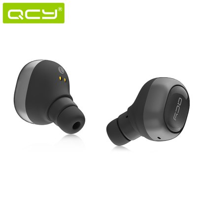 QCY Q29 In-ear Music Bluetooth Headset with MicEarbud Headphones<br>QCY Q29 In-ear Music Bluetooth Headset with Mic<br><br>Application: Sport<br>Battery Capacity(mAh): 45mAh<br>Battery Types: Built-in Li-ion Battery<br>Bluetooth: Yes<br>Bluetooth Version: V4.1<br>Brand: QCY<br>Charging Time.: 1h<br>Compatible with: Computer<br>Connectivity: Wireless<br>Frequency response: 20~20KHz<br>Function: Answering Phone, Bluetooth, Noise Cancelling, Sweatproof<br>Impedance: 16ohms<br>Language: English<br>Material: ABS<br>Model: Q29<br>Music Time: 3 - 4h<br>Package Contents: 1 x QCY Q29 Earphones, 1 x Charging Dock<br>Package size (L x W x H): 13.70 x 6.80 x 3.50 cm / 5.39 x 2.68 x 1.38 inches<br>Package weight: 0.1200 kg<br>Product weight: 0.0800 kg<br>Sensitivity: 96dB<br>Standby time: 30h<br>Talk time: 3 - 4h<br>Type: In-Ear