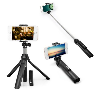 Bluetooth 4.0 Camera Monopod with Tripod