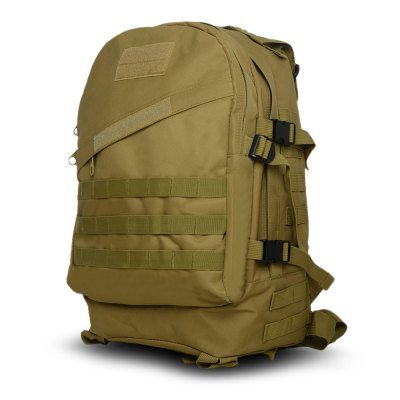 BL006 Wear-resistant Canvas 40L Mountaineering Backpack Bag