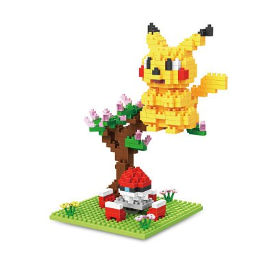 Anime Figure Style ABS Cartoon Building Brick - 360pcs