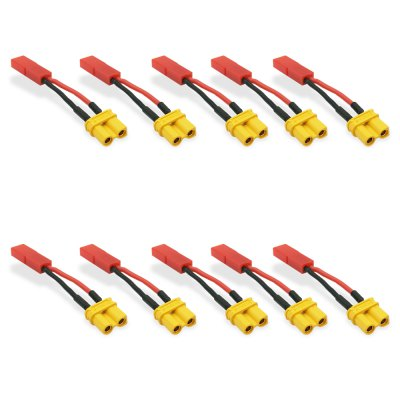 JST Male to XT30 Female Adapter Pack