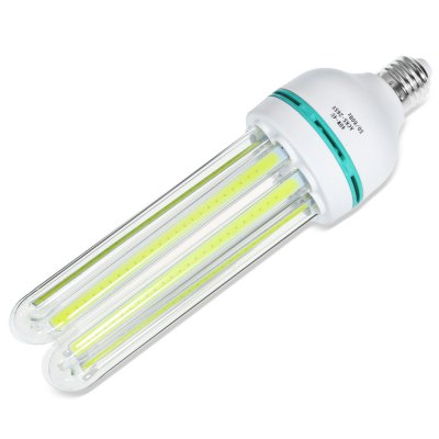 E27 40W 3200LM COB U-shaped LED BulbCorn Bulbs<br>E27 40W 3200LM COB U-shaped LED Bulb<br><br>Available Light Color: White<br>CCT/Wavelength: 6000K<br>Emitter Types: COB<br>Features: Long Life Expectancy, Energy Saving<br>Function: Studio and Exhibition Lighting, Commercial Lighting, Home Lighting<br>Holder: E27<br>Lifespan: 50000h or more<br>Luminous Flux: 3200LM<br>Output Power: 40W<br>Package Contents: 1 x U-shaped LED Bulb<br>Package size (L x W x H): 28.00 x 8.50 x 8.50 cm / 11.02 x 3.35 x 3.35 inches<br>Package weight: 0.300 kg<br>Product size (L x W x H): 26.00 x 7.00 x 7.00 cm / 10.24 x 2.76 x 2.76 inches<br>Product weight: 0.206 kg<br>Sheathing Material: Glass, Plastic<br>Type: U Shaped Light<br>Voltage (V): AC 85-265
