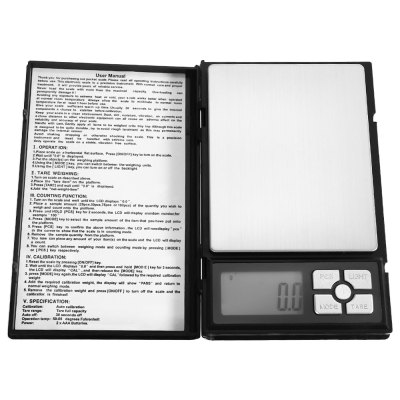 MH - 1108 2000g Digital Jewelry Scale with LCD Backlight