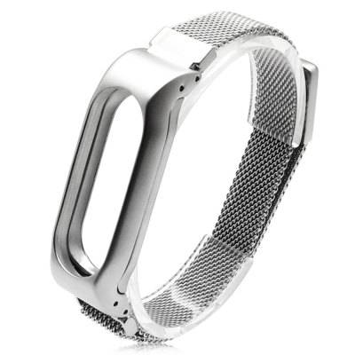 Gearbest Stainless Steel Strap for Xiaomi Miband 2