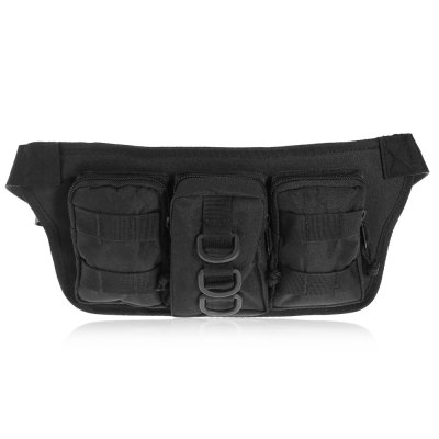 BL025 Water-resistant Nylon 3L Sports Climbing Waist BagWaistpacks<br>BL025 Water-resistant Nylon 3L Sports Climbing Waist Bag<br><br>Capacity: 1 - 10L<br>Color: Black,Khaki,Three Sand Camouflage<br>Features: Water Resistant, Ultra Light, molle system, Tactical Style<br>For: Camping, Travel, Sports, Hiking<br>Material: Nylon<br>Package Contents: 1 x BL025 Waist Bag<br>Package size (L x W x H): 37.00 x 17.00 x 3.00 cm / 14.57 x 6.69 x 1.18 inches<br>Package weight: 0.284 kg<br>Product size (L x W x H): 36.00 x 16.50 x 5.00 cm / 14.17 x 6.5 x 1.97 inches<br>Product weight: 0.230 kg