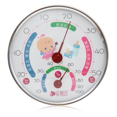 REIZBABY 2 in 1 Baby Room Temperature Thermometer Hygrometer