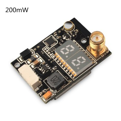 SP833 5.8G 40CH 200mW FPV TransmitterReceiver &amp; Transmitter<br>SP833 5.8G 40CH 200mW FPV Transmitter<br><br>FPV Equipments: FPV Antenna, Transmitter<br>Package Contents: 1 x Transmitter, 1 x Antenna, 1 x Cable, 1 x English User Manual<br>Package size (L x W x H): 12.00 x 17.00 x 2.00 cm / 4.72 x 6.69 x 0.79 inches<br>Package weight: 0.046 kg<br>Product size (L x W x H): 2.50 x 0.80 x 3.40 cm / 0.98 x 0.31 x 1.34 inches<br>Product weight: 0.008 kg
