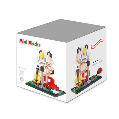Anime Figure Style ABS Cartoon Building Brick - 303pcsBlock Toys<br>Anime Figure Style ABS Cartoon Building Brick - 303pcs<br><br>Completeness: Semi-finished Product<br>Gender: Unisex<br>Materials: ABS<br>Package Contents: 303 x Module, 1 x Operation Instruction<br>Package size: 8.50 x 8.50 x 8.50 cm / 3.35 x 3.35 x 3.35 inches<br>Package weight: 0.120 kg<br>Product size: 8.00 x 7.00 x 9.00 cm / 3.15 x 2.76 x 3.54 inches<br>Product weight: 0.100 kg<br>Stem From: Japan<br>Theme: Movie and TV