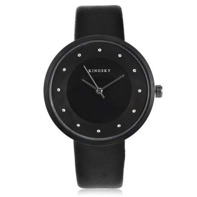 KINGSKY 8230M Fashion Lady Quartz WatchWomens Watches<br>KINGSKY 8230M Fashion Lady Quartz Watch<br><br>Available Color: Black,White<br>Band material: PU Leather, PU Leather<br>Band size: 23 x 1.8 cm / 9.06 x 0.71 inches , 23 x 1.8 cm / 9.06 x 0.71 inches<br>Brand: Kingsky<br>Case material: Alloy<br>Clasp type: Pin buckle, Pin buckle<br>Dial size: 3.8 x 3.8 x 0.8 cm / 1.50 x 1.50 x 0.31 inches , 3.8 x 3.8 x 0.8 cm / 1.50 x 1.50 x 0.31 inches<br>Display type: Analog<br>Movement type: Quartz watch<br>Package Contents: 1 x KINGSKY 8230M Fashion Lady Quartz Watch, 1 x Box , 1 x KINGSKY 8230M Fashion Lady Quartz Watch, 1 x Box<br>Package size (L x W x H): 8.50 x 8.00 x 5.30 cm / 3.35 x 3.15 x 2.09 inches, 8.50 x 8.00 x 5.30 cm / 3.35 x 3.15 x 2.09 inches<br>Package weight: 0.093 kg, 0.093 kg<br>Product size (L x W x H): 23.00 x 3.80 x 0.80 cm / 9.06 x 1.5 x 0.31 inches, 23.00 x 3.80 x 0.80 cm / 9.06 x 1.5 x 0.31 inches<br>Product weight: 0.033 kg, 0.033 kg<br>Shape of the dial: Round<br>Watch style: Fashion<br>Watches categories: Female table<br>Wearable length: 16.6 - 21 cm / 6.54 - 8.27 inches, 16.6 - 21 cm / 6.54 - 8.27 inches