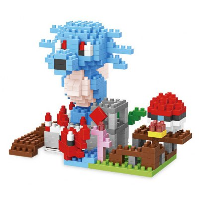 Anime Figure Style ABS Cartoon Building Brick - 316pcs