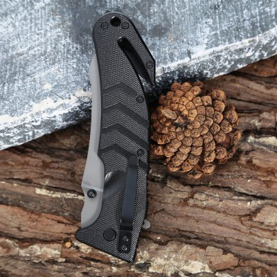 Stainless Steel Multi-use Folding Knife / Saw with Rope Cutter