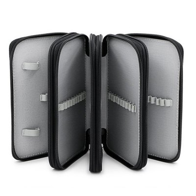 72 Hole Pen Case Stationery Storage Bag  4 LayerDesk Organizers<br>72 Hole Pen Case Stationery Storage Bag  4 Layer<br><br>Features: Big Large<br>Color: Black,Purple,Red<br>Product weight: 0.315 kg<br>Package weight: 0.506 kg<br>Product size (L x W x H): 19.50 x 12.50 x 9.00 cm / 7.68 x 4.92 x 3.54 inches<br>Package size (L x W x H): 21.00 x 17.00 x 10.00 cm / 8.27 x 6.69 x 3.94 inches<br>Package Contents: 1 x 72 Hole Pen Case