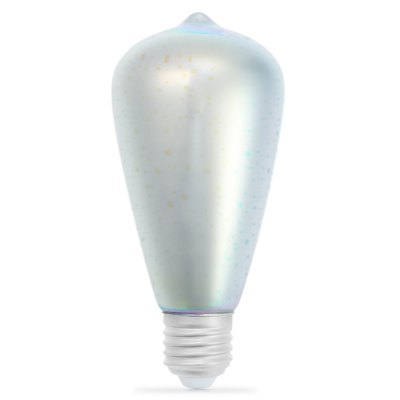 3D Fireworks E27 LED BulbGlobe bulbs<br>3D Fireworks E27 LED Bulb<br><br>Available Light Color: Colorful<br>Features: Long Life Expectancy, Low Power Consumption<br>Function: Home Lighting, Commercial Lighting, Studio and Exhibition Lighting<br>Holder: E27<br>Luminous Flux: 420Lm<br>Output Power: 4W<br>Package Contents: 1 x E27 LED Bulb<br>Package size (L x W x H): 16.00 x 7.00 x 7.00 cm / 6.3 x 2.76 x 2.76 inches<br>Package weight: 0.104 kg<br>Product size (L x W x H): 14.00 x 6.50 x 6.50 cm / 5.51 x 2.56 x 2.56 inches<br>Product weight: 0.057 kg<br>Sheathing Material: Glass<br>Type: Ball Bulbs<br>Voltage (V): AC 85-265