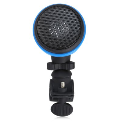 Ourspop MA861 Bicycle SpeakerOther Accessories<br>Ourspop MA861 Bicycle Speaker<br><br>Brand: Ourspop<br>Color: Blue,Red<br>Package Contents: 1 x Ourspop MA861 Bicycle Speaker, 1 x English User Manual, 1 x USB Cable<br>Package Dimension: 18.00 x 13.00 x 9.00 cm / 7.09 x 5.12 x 3.54 inches<br>Package weight: 0.317 kg<br>Product Dimension: 16.00 x 7.80 x 7.00 cm / 6.3 x 3.07 x 2.76 inches<br>Product weight: 0.186 kg
